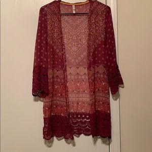 Beautiful Paisley Kimono